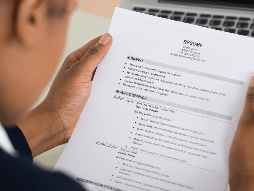Resume или CV на английском